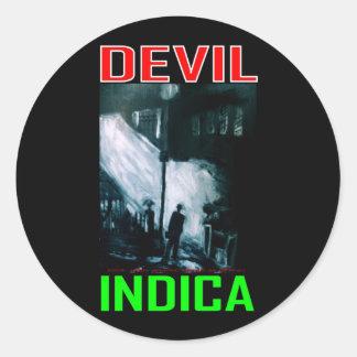 DEVIL INDICA STICKERS