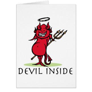 Devil Inside Card