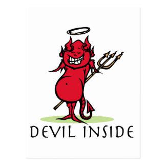 Devil Inside Postcard