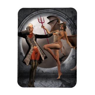 Devil Inside Premium Magnet