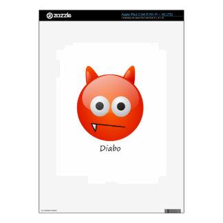 devil iPad 3 skin
