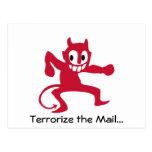 Devil is in the details. postcards