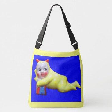 Halloween Themed devil-ish little imp crossbody bag