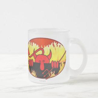 Devil Kilroy Frosted Mug