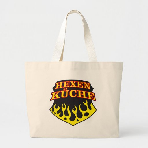 devil kitchen witch kitchen jumbo tote bag