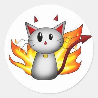 Devil Kitty - Sticker