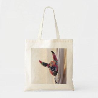 Devil lurking budget tote bag
