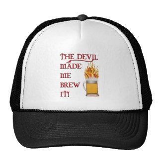 Devil Made Me Brew It - Beer Mesh Hats