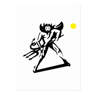devil man postcard