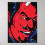 Devil Man Print