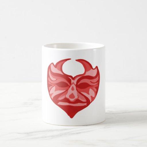 Devil mask devil MASKs Classic White Coffee Mug