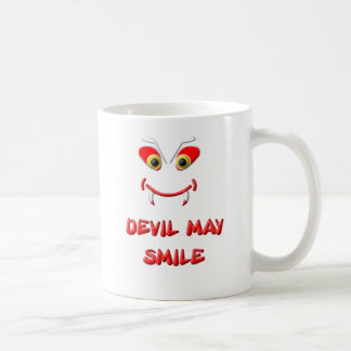 DEVIL MAY SMILE 2.png Coffee Mug
