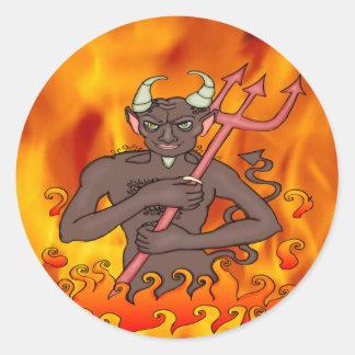 Devil Monster Sticker