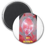 Devil Ozzy Skateboard magnet