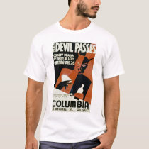 Devil Passes Comedy 1940 WPA T-Shirt