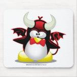 Devil Penguin Mouse Mats