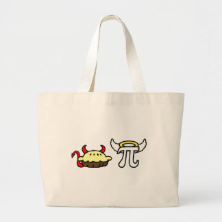 Devil Pie and Angel Pi Canvas Bags
