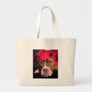 Devil Pit Canvas Bag