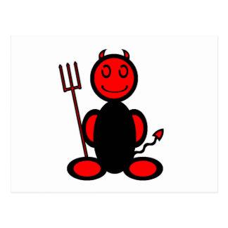Devil (plain) postcard