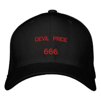 DEVIL PRIDE, 666 EMBROIDERED BASEBALL HAT
