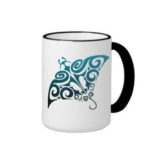 Devil Ray Ringer Coffee Mug