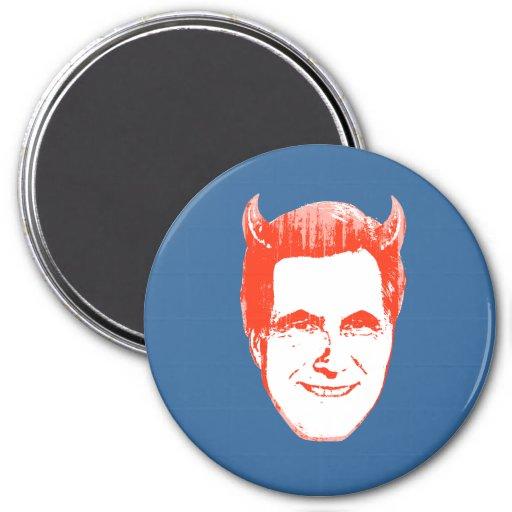 Devil Romney.png 3 Inch Round Magnet
