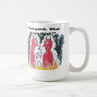 Devil s soul patch mug