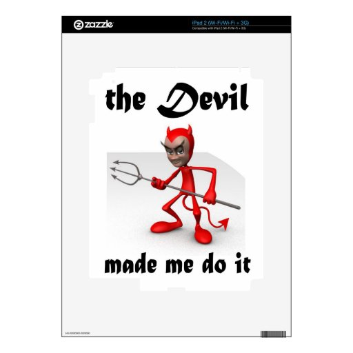 devil skins for the iPad 2