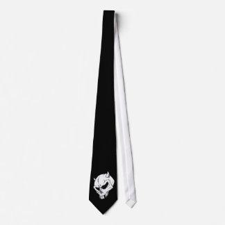 devil skull tie