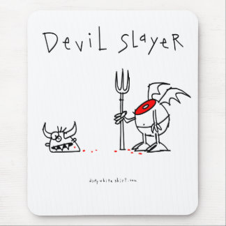 Devil Slayer Mouse Pad