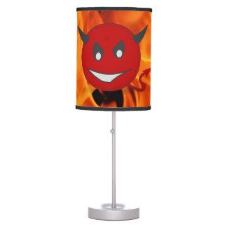 Devil smiley desk lamp