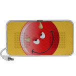 Devil Smiley Face Portable Speakers