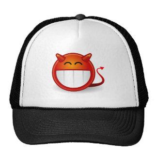 Devil Smiley Funny Hat