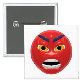 Devil Smiley Pinback Buttons