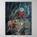 Devil Spider Attack Poster