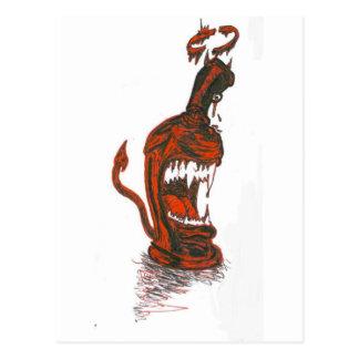 DEVIL SPRAY CAN POST CARDS