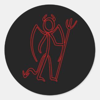 Devil - Stickman Stickers