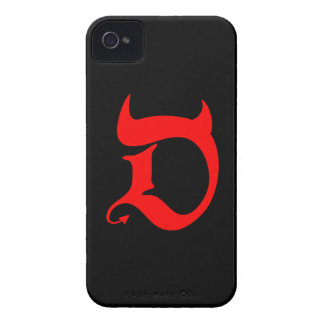 Devil (talk print) Case-Mate iPhone 4 case