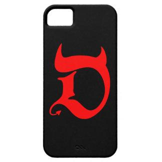 Devil (talk print) iPhone 5 case