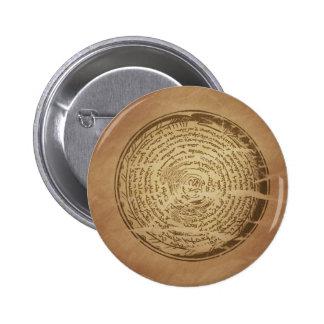 Devil Trap Assyrian Magic Charms Pinback Button