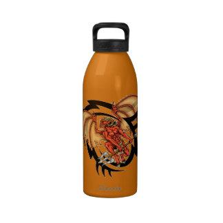 Devil Tribal Tattoo Water Bottle 32 oz.