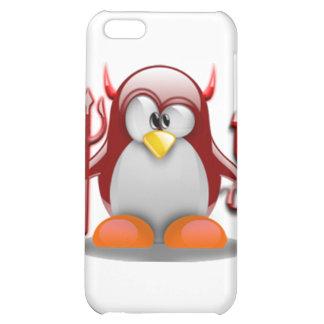 Devil Tux (Linux Tux) Case For iPhone 5C