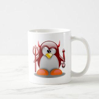 Devil Tux (Linux Tux) Coffee Mug