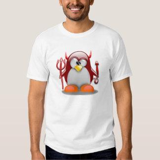 Devil Tux (Linux Tux) Shirt