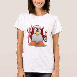 Devil Tux (Linux Tux) T-Shirt