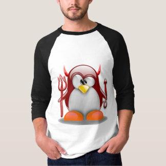Devil Tux (Linux Tux) Tee Shirt