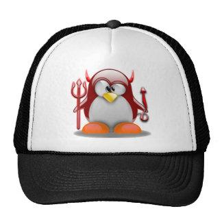 Devil Tux (Linux Tux) Trucker Hat