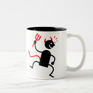 Devil Two-Tone Coffee Mug