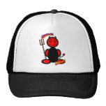 Devil (with logos) mesh hat