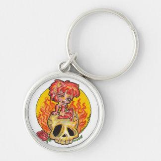 Devil Woman Keychain